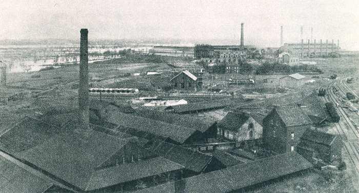 Hütte Duisburg-Bruckhausen 1894