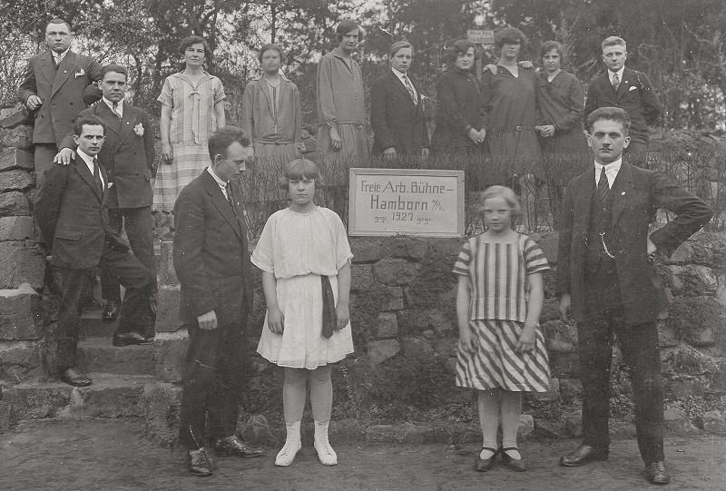 freie arbeiter-buehne 1927
