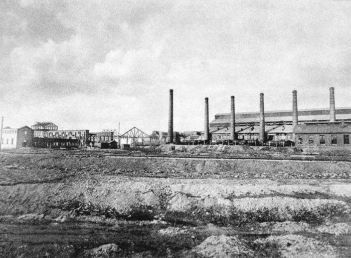 Siemens-Martin-Stahlwerk Hamborn, 1895