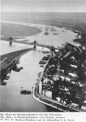 Rhein bei Duisburg-Hamborn