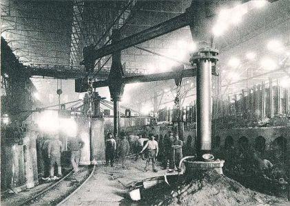 Siemens-Martin-Stahlwerk, 1892