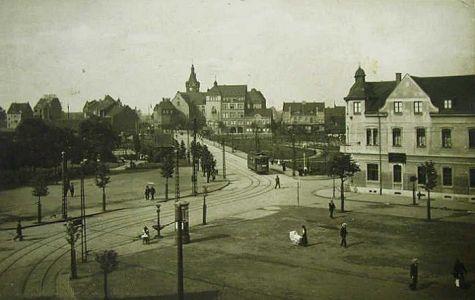 Blick auf das Hamborner Rathaus