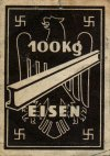 thumb Bezugsmarke 100 kg Eisen 1941-42