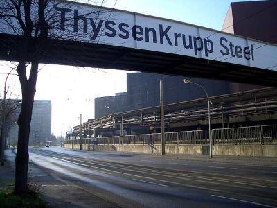 Thyssen-Krupp-Stahl Brücke
