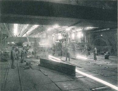 Walzwerk Duisburg-Bruckhausen 1892