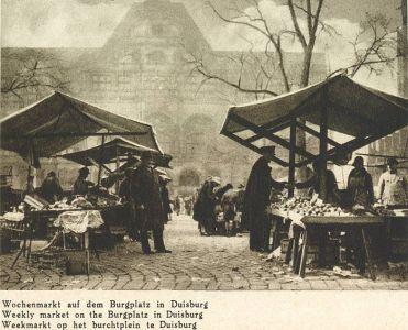 Wochenmarkt in Duisburg
