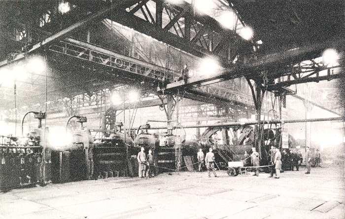 Walzwerk Duisburg-Bruckhausen 1893
