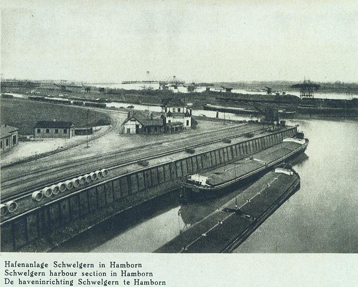 Hafenbau in Schwelgern