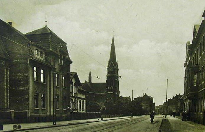 Hamborn auf dem Weg zur Stadt