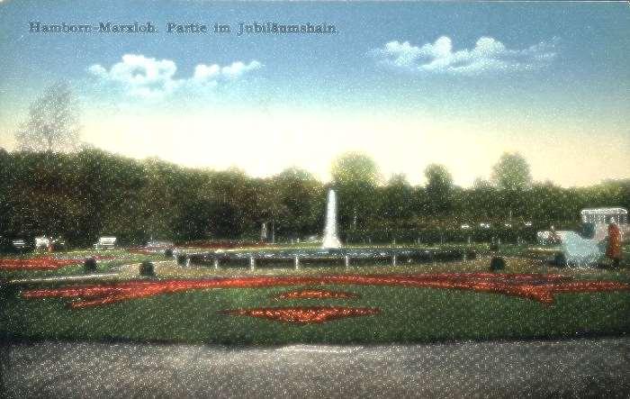 Nord-, Südfriedhof und der Jubiläumshain